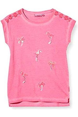 Salt & Pepper Salt and Pepper Girls' Flamingo und Palmen aus Pailletten T-Shirt