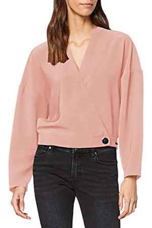 Armani Exchange Women's 1 Button and A Half Blouse