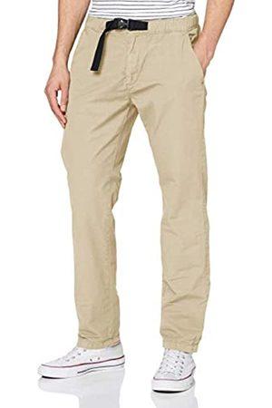 Urban classics Men's Straight Leg Chino Hose Mit Gürtel Dress Pants
