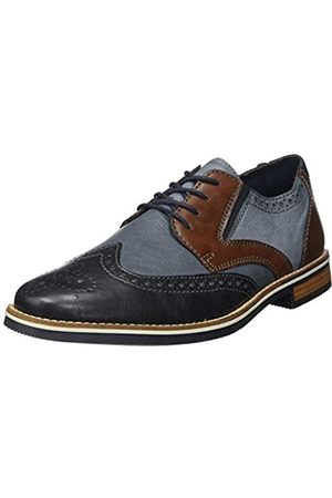 Rieker 13520 Men Business Shoes,Low Shoe,lace-up Shoe,Derby Lacing,Business Shoe,Suit Shoe,Dress Shoe,Office,ozean/ozean/16