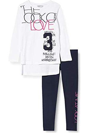 MEK Girl's Compl.t-Shirt M/l + Leggings T.u. Clothing Set