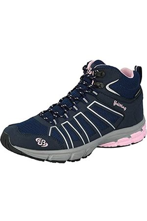 Bruetting Women's Montenegro High Cross Country Running Shoe, Marine/Rosa