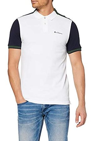 Ben Sherman Men's Colour Block Polo Shirt, ( 10)