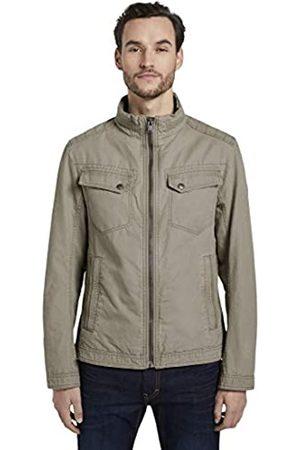 Tom Tailor Men's Cotton Touch Jacket, 10941-Coastal Fog