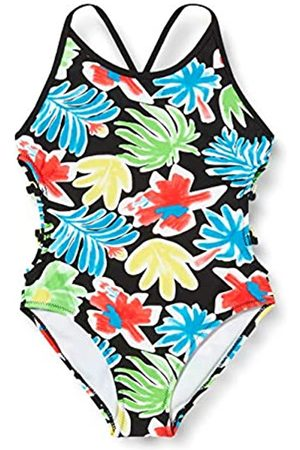 Tuc Tuc Tuc Baby Girls' Sunset B. Swimsuit, (Negro 30)