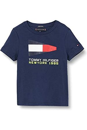 Tommy Hilfiger Boy's Tommy Flag Sailing Gear TEE S/S T-Shirt