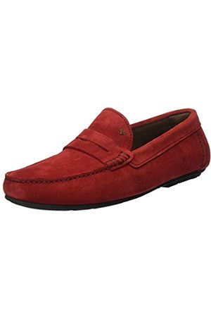 MARTINELLI Men's Pacific 1411_V20 Moccasins, (Rouge Rouge)