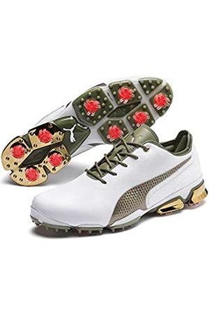 Puma Men's Ignite PROADAPT G_LUX Golf Shoes, Whitegold 01