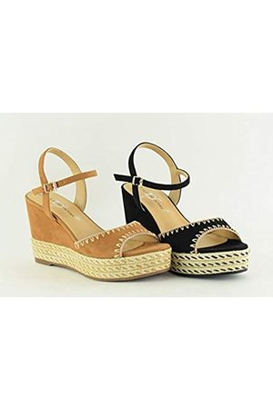 The Divine Factory Women's Loganne Ankle Strap Sandals, ( 010)