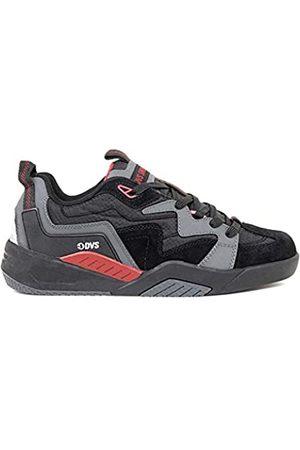 DVS Unisex Adults' Devious Skateboarding Shoes, (Charcoal Nubuck 021)