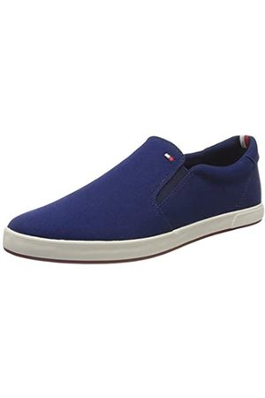 Tommy Hilfiger Men's Iconic Slip On Sneaker Low-Top, ( Ink C7h)