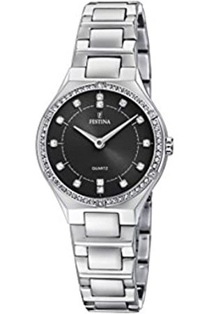 Festina Womens Analogue Classic Quartz Watch with Stainless Steel Strap F20225/2