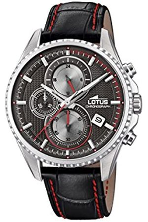 Lotus Watches Mens Chronograph Quartz Watch with Leather Strap 18527/4