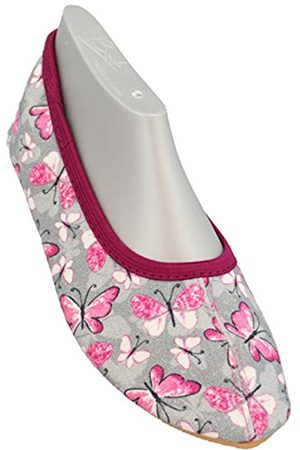 Beck Girls' Harmonie Gymnastics Shoes, (grau 24)