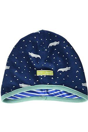 loud + proud Baby Boys' Reversible Cap Allover Print Organic Cotton Hat