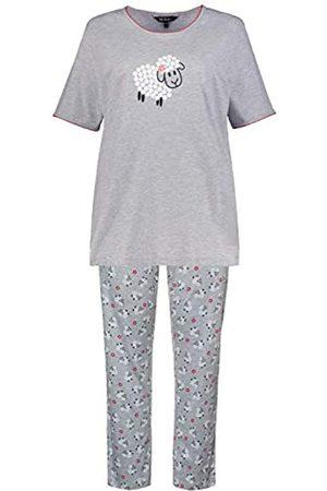 Ulla Popken Women's Große Größen Pyjama, Schaf Night Shirt