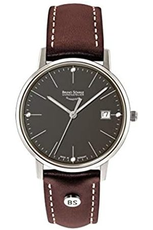 Bruno Söhnle Mens Analogue Quartz Watch with Real Leather Strap 17-13176-841