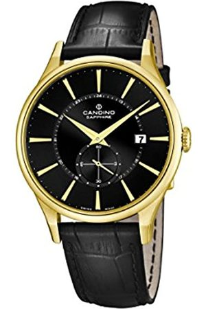 Candino Men's Quartz Watch with Dial Analogue Display and Leather Strap C4559/4