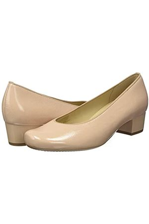 ARA Women's Brügge Closed-Toe Pumps, (Nude 10)