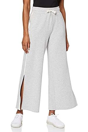 AURIQUE Amazon Brand - Women's Side Stripe Sports Trousers