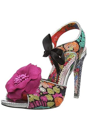 Irregular Choice Women's Flower Bee Open Toe Heels