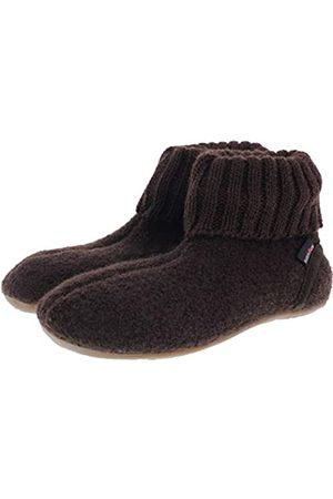 Haflinger Men's Karlo Everest Hi-Top Slippers, (Kaffee 65)