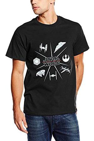 STAR WARS Men's Starships Spoke T-Shirt