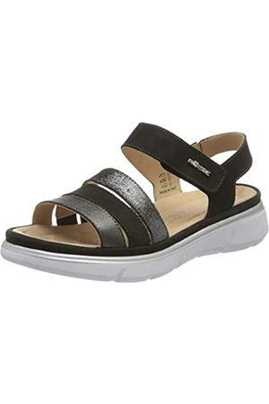 Rohde Women's Enna Ankle Strap Sandals, (Schwarz 90)