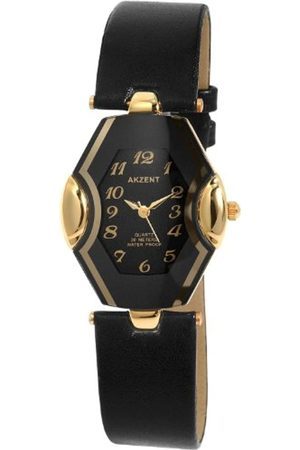 Akzent Women's Quartz Watch SS7301000015 with Leather Strap