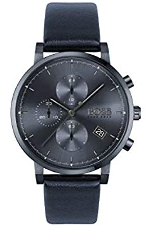 Hugo Boss Mens Analogue Quartz Watch with Leather Strap 1513778