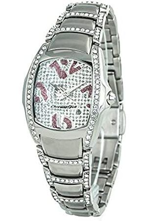Chronotech Womens Analogue Quartz Watch with Stainless Steel Strap CT7896SS-71M