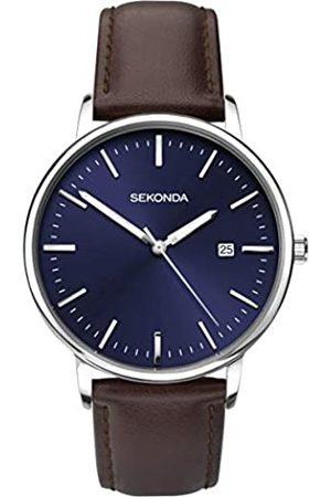 Sekonda Unisex-Adult Analogue Classic Quartz Watch with Leather Strap 1379.27