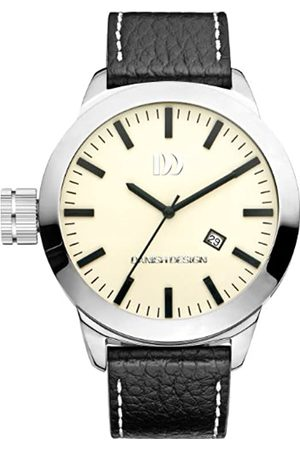 Danish Designs Danish Design Men's Quartz Watch with Dial Analogue Display and Leather Bracelet DZ120239