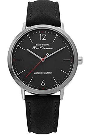 Ben Sherman Mens Analogue Classic Quartz Watch with PU Strap BS019B