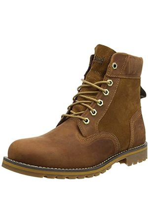 Timberland Men's Larchmont 6 Inch Waterproof Lace-up Boots, (Md Full Grain)