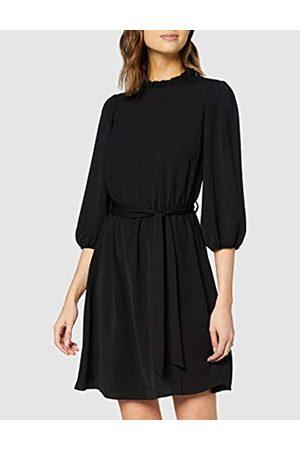 New Look Women's Ls Plain Jill Frill Dress Casual