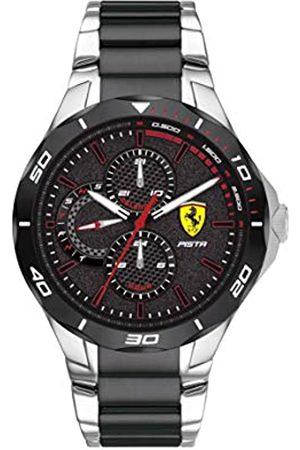 Scuderia Ferrari Men's Analogue Quartz Watch with Stainless Steel Strap 830761