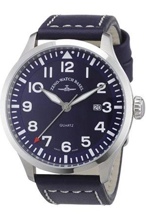 Zeno Watch Basel Men's Quartz Watch Quarz 6569-515Q-a4 with Leather Strap