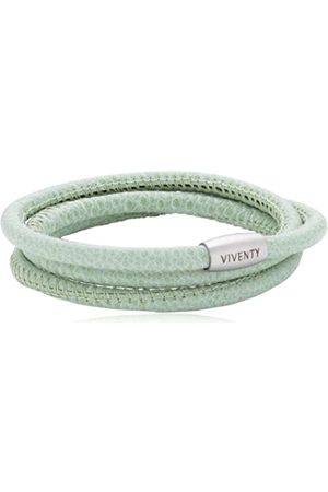 Viventy Unisex Leather Bracelet 3 Strands - 59 cm.