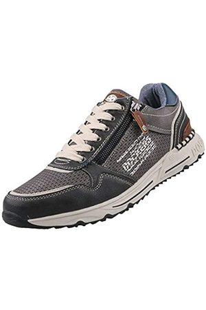 Dockers by Gerli Men's 46pl001-600220 Low-Top Sneakers, (Dunkelgrau 220)