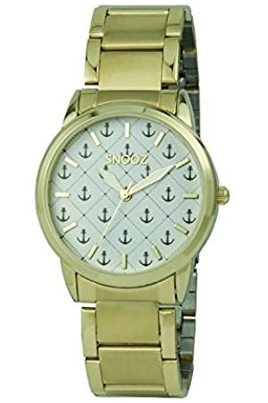 Snooz Unisex Adult Analogue Quartz Watch with Stainless Steel Strap Spa1033-05