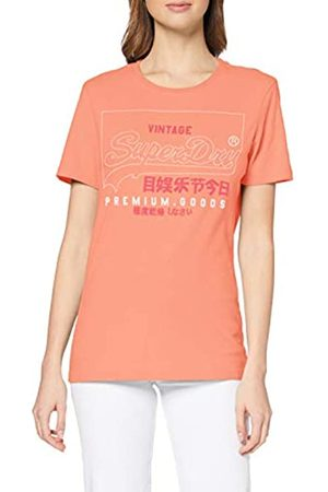 Superdry Women's Pg Label Outline Entry Tee T-Shirt