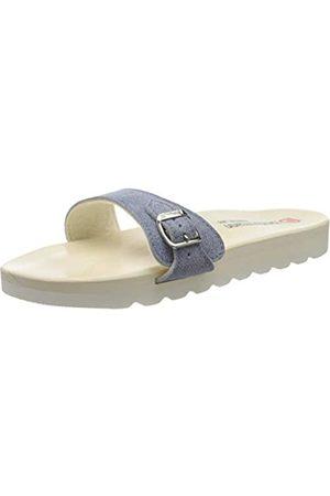 Berkemann Unisex Adults' City O-Sandale Mules, (Jeansblau 346)