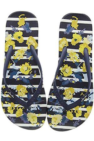 Joules Women's Flip Flops, (Navy Floral Stripe Navflrlstp)