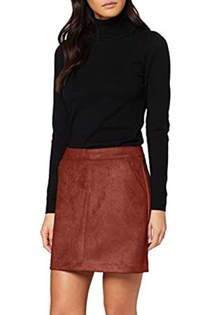 Vero Moda Women's Vmdonnadina Faux Suede Short Skirt Col