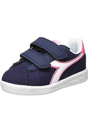 Diadora Unisex Kids' Game Cv Td Fitness Shoes, (Corsair/Hot C4183)