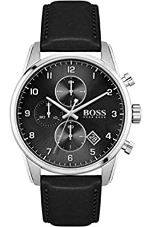 Hugo Boss Men's Analogue Quartz Watch with Leather Strap 1513782