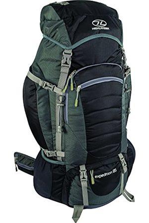 Highlander Expedition Rucksack ꟷ 60L, 65L & 85L Quality Backpack ꟷ Ideal for Hiking, Backpacking, DofE, Scouting Trips ꟷ Men & Women ꟷ Blue