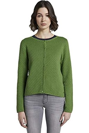 TOM TAILOR Women's Bubble Cardigan Sweater