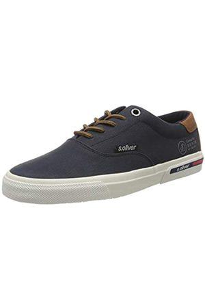 s.Oliver Men's 5-5-13609-24 Low-Top Sneakers, (Navy 805)